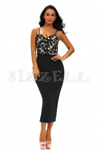 "THE ""TABITHA"" LUXE LACE BUSTIER BODYCON DRESS...."