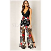 """THE """"AMBER"""" LUXURY EMBROIDERED   JUMPSUIT..."""
