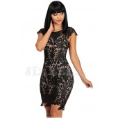 """THE """"FIONA"""" LUXE CROCHET LACE DRESS..."""