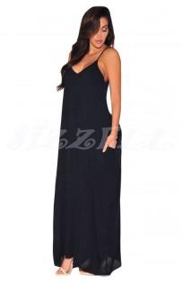 """THE """" LEA"""" MAXI DRESS.. BLACK.."""