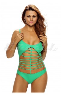 "THE ""ARIEA"" LUXE CUT OUT RIBBED SEXY ONE PIECE SWIMSUIT..."