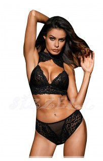 """THE """"LEORNA""""  LUXE LACE BRALETTE SET W/ SEXY CHEEKY BOTTOM..."""